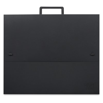 Prat Start 0 Essential Portfolio, Weather-Resistant Cover with Handle, Double-Opening for Transport and Presentation, 23 X 31 X 2.5 inches, Black (S0-1311) by Prat