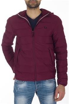 online store 017a4 7cf06 Fred Perry Piumino Uomo Bordeaux XXL: Amazon.it: Sport e ...