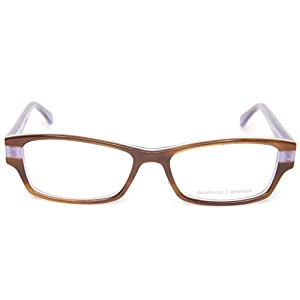 NEW PRODESIGN DENMARK 1748 1 c.5024 BROWN EYEGLASSES FRAME 51-15-135 B29mm Japan