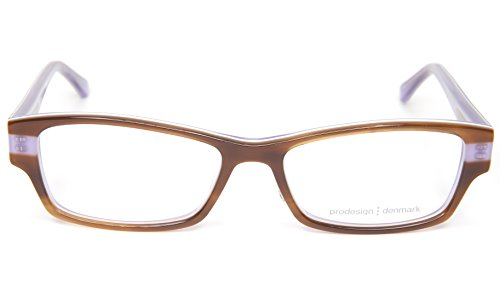 NEW PRODESIGN DENMARK 1748 1 c.5024 BROWN EYEGLASSES FRAME 51-15-135 B29mm - Prodesign Glasses