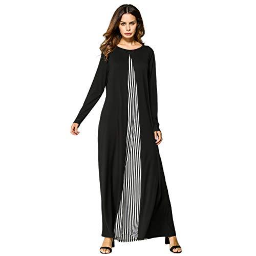 00f17bab56 Muslim Dress for Women Robe Open Abaya Long Sleeve Arabic Long Dress  Islamic Muslim Middle Eastern