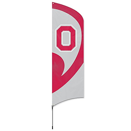 Party Animal NCAA Ohio State Buckeyes College Tailgating Flag Kit