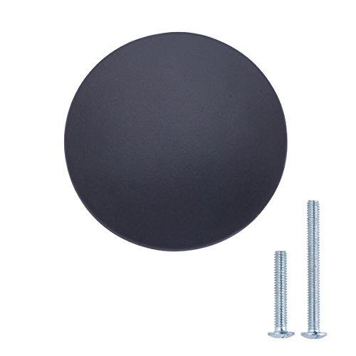 Drawer Knobs Matte - AmazonBasics Round Flat Cabinet Knob, 1.37