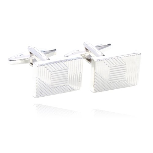 - Digabi Jewelry Abstract Geometric Lines Shirts Cufflinks For Men with Gift Box