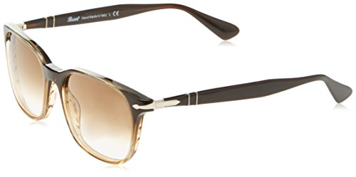 Negro Brown Brown Blackripped PO3164S Sonnenbrille Persol 8qwzxHP8