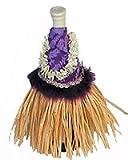 Purple Hula Skirt Wine Outfit 11'' X 9''