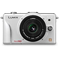 Panasonic Lumix DMC-GF2 12 MP Micro Four-Thirds Mirrorless Digital Camera with 3.0-Inch Touch-Screen LCD and 14mm f/2.5 G Aspherical Lens (White) Overview Review Image