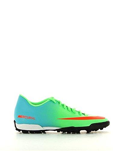 Nike Mercurial Vortex TF Fussballschuhe neo lime-ttl crmsn-mtllc slvr-plrzd blue - 40,5