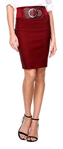 Buy belted pencil skirt dress - 5