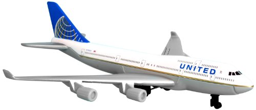 Daron United 747 Single Plane (Boeing 737 500 Jet)