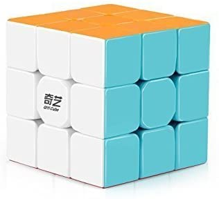 AGAMI QIYI Warrior W 3x3 High Speed Stickerless Rubiks Magic Rubix Cube 3D Puzzles