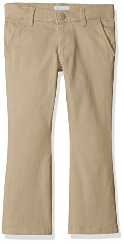The Children's Place Big Girls' Uniform Pants, Sandy, 14S