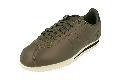 Classic Leather Premium Sneaker Oliva Cortez Verde In Pelle Nike gw5tznqxw