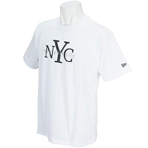 (ニューエラ) NEW ERA Tシャツ NYC ホワイト/ブラック M