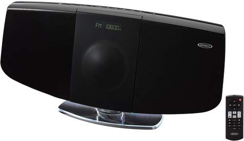 Jensen JBS-350 Wall Mountable Bluetooth Music System with CD (Wall System Tracking)