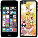 Ipod Touch 5th Case Cartoon-Ipod Touch 5th Case Sailor Moon Anime Dust Resistant Back - 5 Moon Case Touch Ipod Sailor