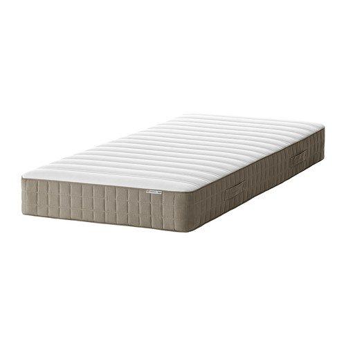 IKEA HAMARVIK - colchón de muelles, de firmeza media, beige oscuro - 3 Single: Amazon.es: Hogar