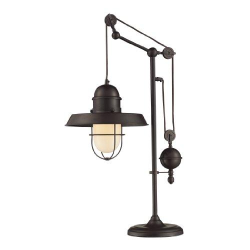 Dimond 65072-1 Farmhouse Table Lamp, Oiled Bronze