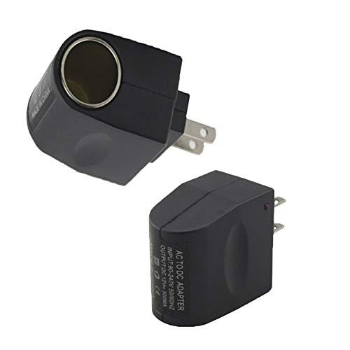 New 110V - 240V AC Plug to 12V DC Car Cigarette Lighter Converter Socket Adapter ()