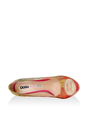 Excelente Visite la venta en línea Dogo De Tacón Alto - Hola Bastante Koralle / Mehrfarbig Costo de envío gratis Venta de tienda outlet en línea Gran venta vjCVeCJ4H