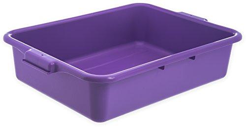 Carlisle N4401089 Comfort Curve Ergonomic Wash Basin Tote Box, 5