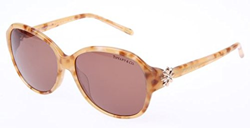 4639f08fad55 Image Unavailable. Image not available for. Colour  TIFFANY Sunglasses TF  4068B 8077R1 Honey 58MM