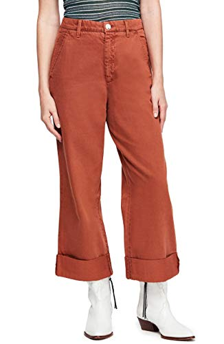 Free People Women's On My Mind Wide Leg Pants (Terracotta, 26) from Free People