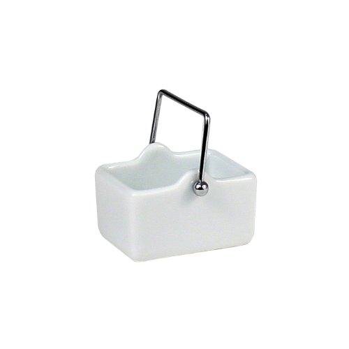 Spectrum Diversified Pantry Works Sugar/Sweetener Packet Basket, White