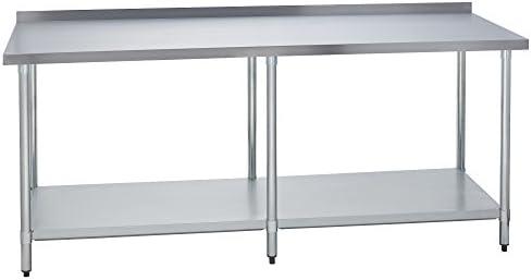 Fenix Sol Prep mesa de trabajo comercial Cocina de acero ...
