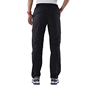Nonwe Women's Water-resistant Lightweight Cargo Pants-back