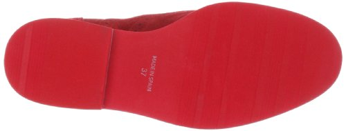stringate Rosso Scarpe BOB Rot donna Nat Suede Red 2 basse EBYgqntw