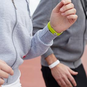 Innovative wrist band that keeps track of your movements, communications and entertainment