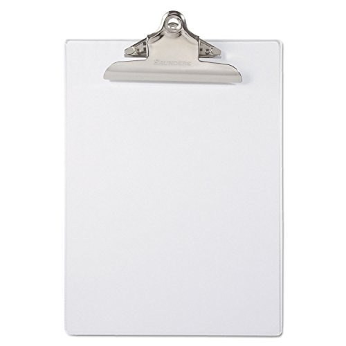 "SAUNDERS MFG CO, INC 21803 Recycled Plastic Clipboards, 1"" C"