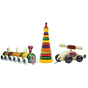 Wooden Toddler Toy Collection –...