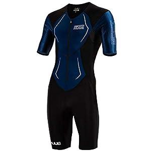 Huub Dave Scott Long Course Triathlon Suit Black Navy Swimming Tri Open XS-XL