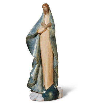 Lladro Holy Mother Porcelain Sculpture