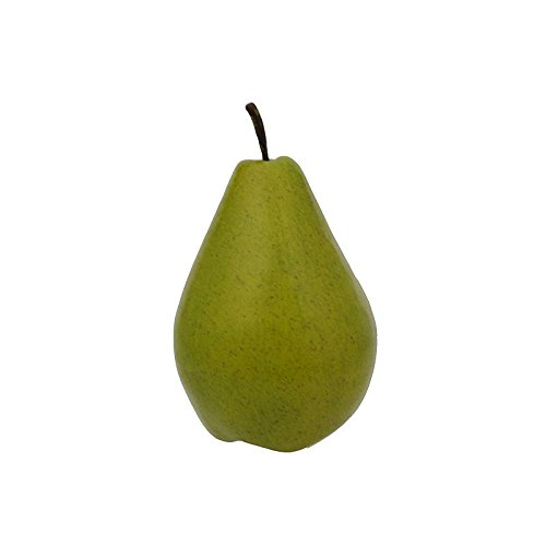 Artificial Oversize Pear - 12 Pieces (Green) by Flora Bunda