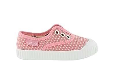 Zapatillas Victoria 36632 - Inglesa Rayas Rosa: Amazon.es: Zapatos y complementos