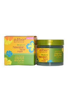 Alba Botanica Hawaiian Papaya Enzyme Facial Mask - 3 oz pack