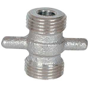 Coupler Duplex - Micromatic Duplex Cleaning Coupler Gray 7-oz. 1 piece