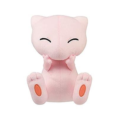"Pokemon Mew Togepi Mewtwo's Counterattack Evolution Movie Ver. Mew 10"" DX Plush Toy Doll Collection Anime: Toys & Games"