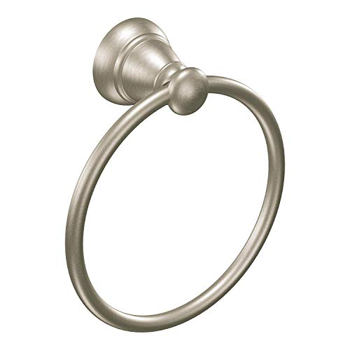 (Moen Y2686BN Banbury Towel Ring, Brushed Nickel )