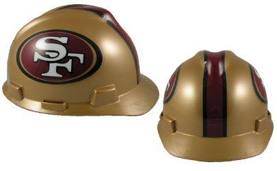 MSA 818409 Adult's San Francisco 49ers Football Logo