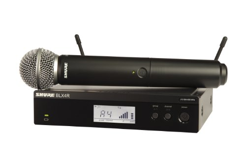 Shure BLX24R/SM58 Handheld Wireless System with SM58 Vocal Microphone, Rack Mount, J10