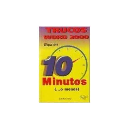 Aprendiendo Trucos Word 2000 - Guia En 10 Minutos