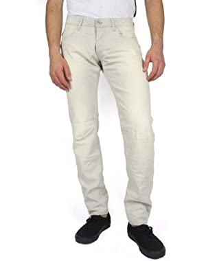 Mens Dexter Low Tapered Jeans in Light Aged