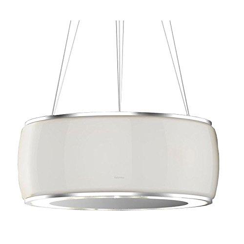 Falmec - Campana de isla Soffio acabado cristal blanco ...