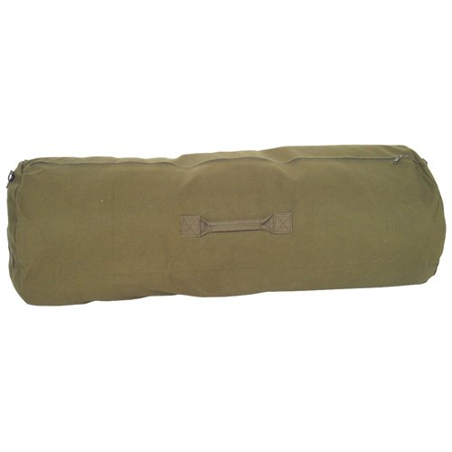 Products Duffel Outdoor (Fox Outdoor Products Zipper Duffel Bag, Olive Drab, 25 x 42-Inch)