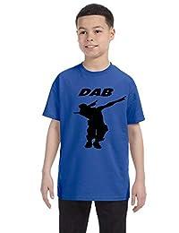 Allntrends Kids Youth T Shirt Dab Dance Trendy Dancing Shirt Fun Dabbing Gift