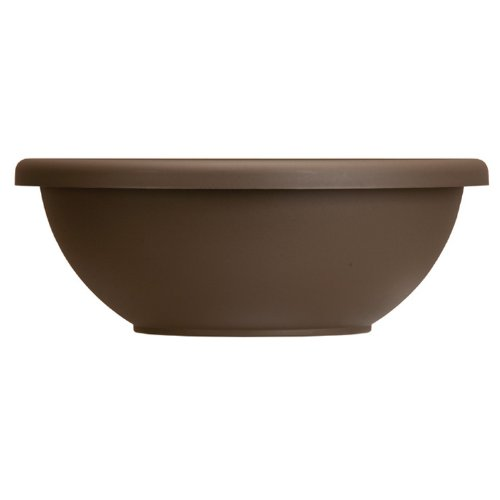 Chocolate Pots Flower - Akro-Mils GAB22000E21 Garden Bowl, Chocolate, 22-Inch